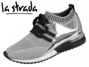 la strada Knitted Sneaker 1806936-4542 silver metallic knitted