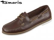 Tamaris 1-23616-24-498 chestnut pull u Leder