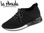 la strada Knitted Sneaker 1802649-4501 black knitted