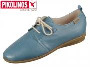 Pikolinos Calabria W9K-4985 saphire Leder