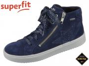 superfit Heaven 1-006499-8000 blau Velour Effektleder