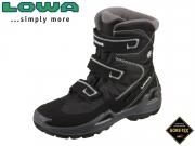 Lowa Milo GTX HI 640540 9923-650540-9926-660540 schwarz-hellgrau Textil