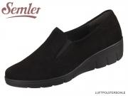 Semler Judith J7025042001 schwarz Samt-Chevro