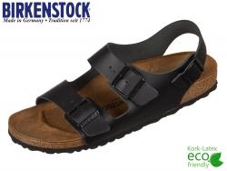 Birkenstock Milano 034193 schwarz Leder