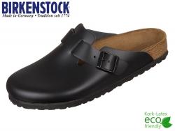 Birkenstock Boston 060191 schwarz Leder