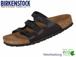 Birkenstock Florida 053013 schwarz Birko-Flor