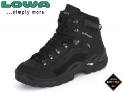 Lowa Renegade GTX 320945-9999 schwarz-schwarz GTX