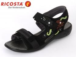 Ricosta Azani 69250-095 schwarz Velour-mamba