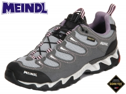 Meindl Jamaica Lady GTX 34870-03 grau- flieder Velourleder
