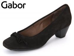 Gabor 41.260-17 schwarz Nubuk Soft