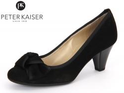 Peter Kaiser Fenna 69753-603 schwarz Suede Ripsband