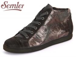 Semler Cris C91591-442-002 anthrazit Kalbvelour Camouflage