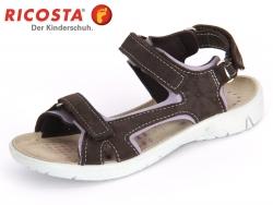 Ricosta Vita 6825100-456 stone flieder Velour-Textil