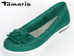 Tamaris 1-24612-22-700 green Leather