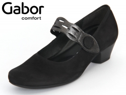Gabor Athen 86.119.47 schwarz Nubuk soft