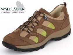 Waldläufer Holly 471014 553 316 biber sand pistazie Denver Mesh