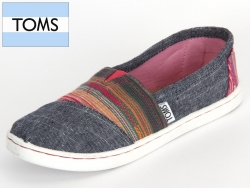 TOMS 10001235 grey serape Canvas