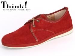 Think! SPORTLA 82631-72 rosso kombi Crosta Nappa
