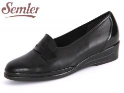 Semler Evi E1656-118-001 schwarz Soft-Nappa-Knautsch-Lack