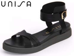 Unisa Casta-OL black Leather