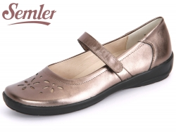 Semler Flora F5805-019-052 bronce Metall-Nappa