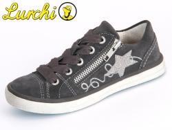 Lurchi Salina 2 33-13730-25 charcoal Suede-Glitter