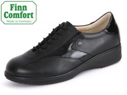 Finn Comfort Beirut 02173-900158 schwarz NappaSeda-Knautschlack