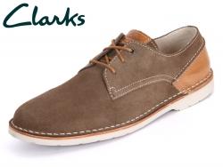 Clarks Hinton Fly 261072137 7 080 khaki Suede