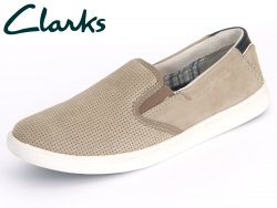 Clarks Newood Easy 26108106 7 080 taupe Nubuck