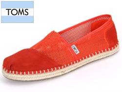 TOMS 10004941 fiesta red Mesh
