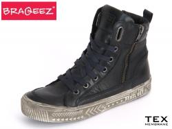 Braqeez 415799-T529 blau Leder