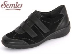 Semler Birgit B6015124001 schwarz Soft-Nappa Kalbvelour