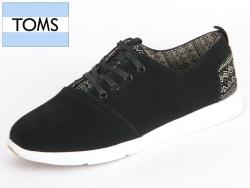 TOMS 10006430 black Suede