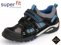 SuperFit Sport 4 6-00225-03 schwarz multi Velour Tecno Textil