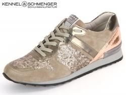 Kennel & Schmenger Runner 31 18390.434 natur gold Suede Paillet