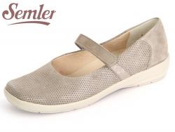 Semler Flora F5085-070-028 panna Samt Metall