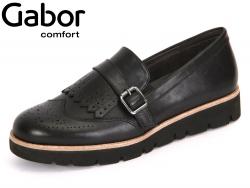 Gabor Florenz 52.566-57 schwarz Foulardcalf