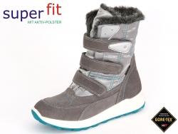 SuperFit Merida Stiefel 7-00154-06 stone kombi Velour Textil