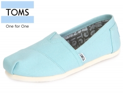 TOMS Classic 10008059 canal blue canvas