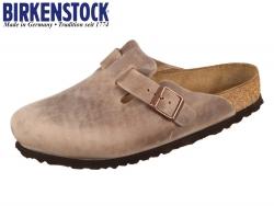 Birkenstock Boston 960811 tabacco brown Leder Oil