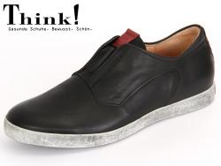 Think! Kenidi 80626-09 schwarz Soft Calf Veg