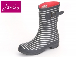 Tom Joule Molly Welly Molly Welly printed greysilverstripe Rubber