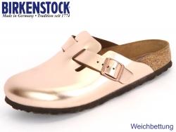 Birkenstock Boston 1001384 metallic cooper