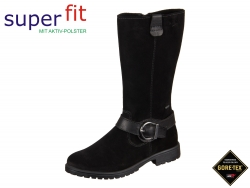 SuperFit 1-00176-02 schwarz kombi Velour Nappa