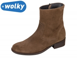 Wolky Assam 0451440310 middle brown Oiled Suede