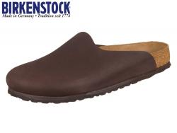 Birkenstock Amsterdam 1006716 chocolate Nubuk Steer