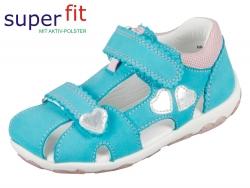 SuperFit Fanni 2-00038-91 türkis kombi Nappa Textil