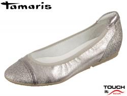 Tamaris 1-22139-20-301 pepper combi Leather Textile