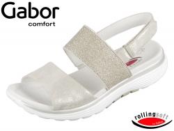 Gabor Rolling Soft 86-914-93 visone argento Caruso Glamour HT