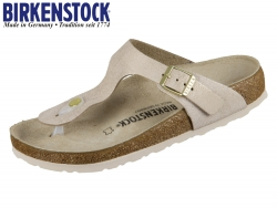 Birkenstock Gizeh 1008793 metallic rose gold VL Washed Leder